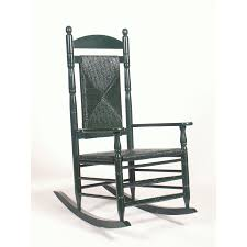 shop hinkle chair company green outdoor rocking chair at lowes com