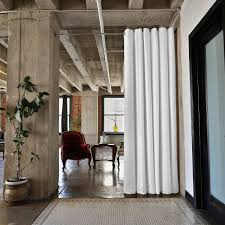 Spring Tension Curtain Rods Home Depot by Amazon Com Roomdividersnow Premium Tension Curtain Rod 80in