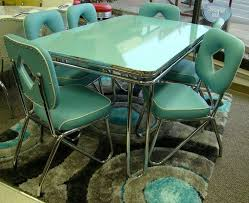 Still In Production After Nearly 70 Years Acme Chrome Dinettes Made From 1949 To 1959 Vintage Kitchen TablesRetro