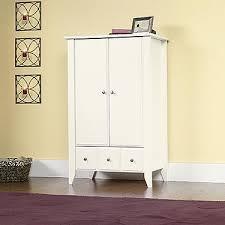 Sauder Shoal Creek Dresser Soft White Finish by Shoal Creek Armoire Finish Soft White Walmart Com