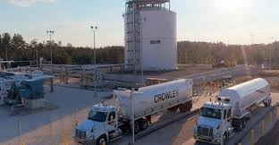 100 Crowley Trucking Using ISO Tank Containers For LNG Shipments Bulk Transporter