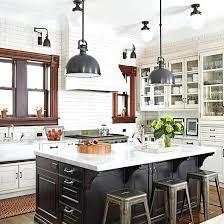 pendant lighting over kitchen peninsula island height ideas uk