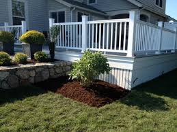 Metal Deck Skirting Ideas by Deck Skirting Can Be An Attractive Feature That Can Be Added To