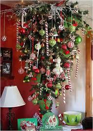 Upside Down Clipart Christmas Tree 7