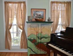 Full Size Of Kitchen Bags The Holliday Collective Diy Burlap Curtains No Sew