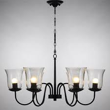 interesting glass chandelier shades best home decor inspirations