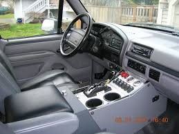 1996 Ford Bronco Interior Diymid Com | Stuff I Wont For My Bronco ...