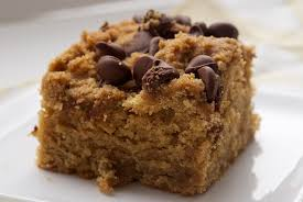 Peanut Butter Chocolate Chip Cake Bake or Break