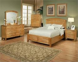 Brown Oak Artwork Frame Pattern Fur Rug Honey Bedroom Furniture Alexandria Style For Varnished