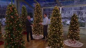 Slimline Christmas Trees With Lights by Bethlehem Lights Canterbury Slim Christmas Tree On Qvc Youtube