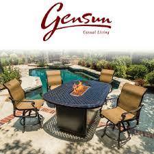 Gensun Patio Furniture Cushions by Gensun Patio Furniture Viking Casual Furniture