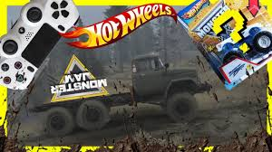 Monster Jam Video Game Tow Truck Challenge With Hot Wheels Monster ...