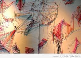 Nice Design String Wall Art DIY Ideas For Camouflaging And Beauty EducatorDIY