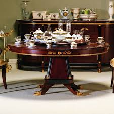 Gigasso Round Dining Table Seats 8 10