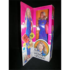 Autographed Bionic Woman Doll