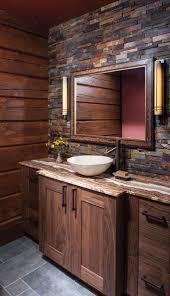Bathroom Design Rustic Decor Designs Wooden Shelves Bro E Ac Sinks For