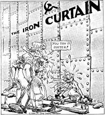Iron Curtain Speech 1946 Definition by Michelle Iron Curtain Causes Of The Cold War