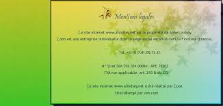 traduction siege social loon traduction mentions legales
