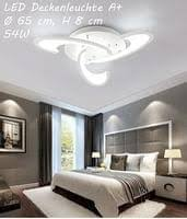 huis style home 36w led dimmbar deckenle schlafzimmer