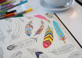 Coloring Is Gaining Popularity As A Way To Unwind And Quiet Our Minds We Focus Solely On Filling In The Black White Lined Drawings With Color Little