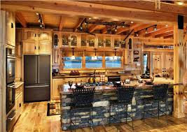 Image Of Kitchen Rustic Track Lighting