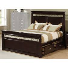 Durable King Size Bed Frame With Storage with Modern Bedroom