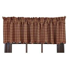check plaid valances kitchen curtains you ll wayfair ca