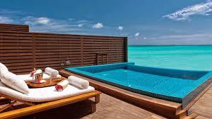100 Maldives Infinity Pool Ocean Villa With Private Luxury Water Villas
