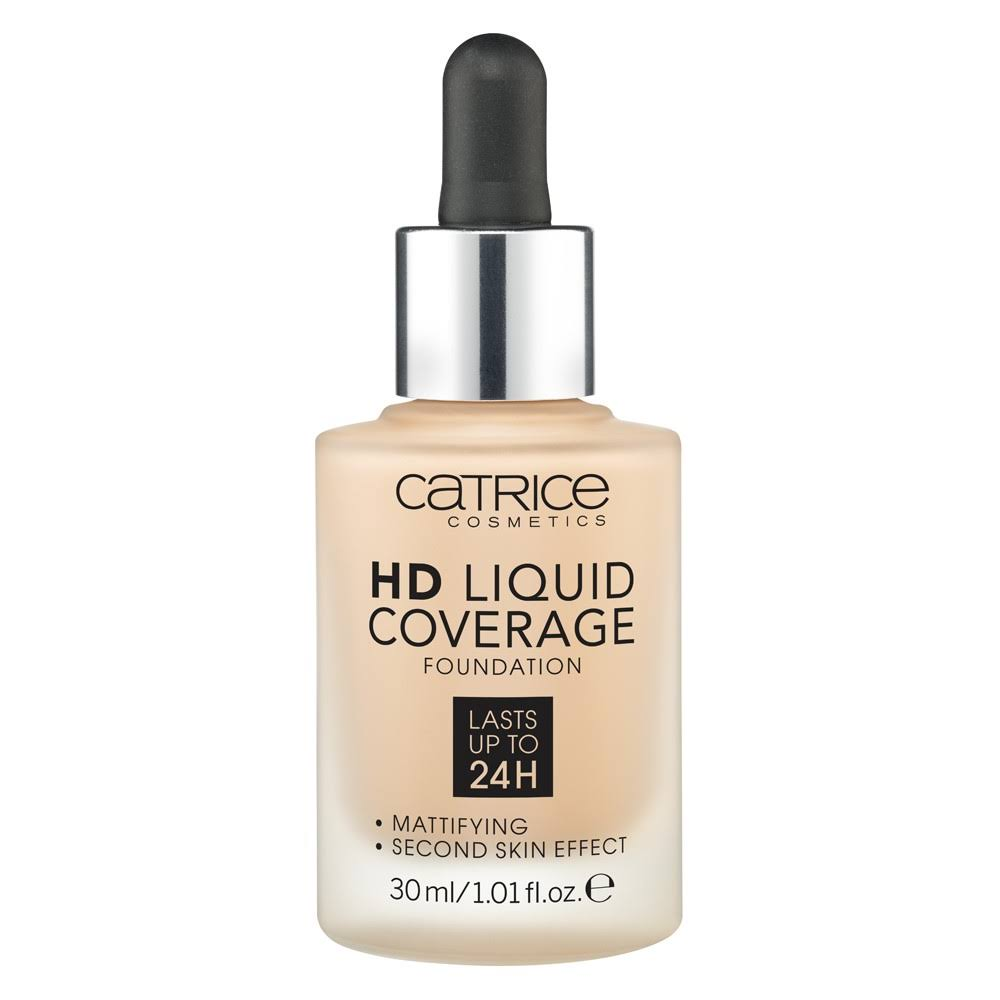 Catrice - Liquid HD Foundation Coverage - 030 Sand Beige