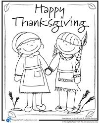 Free Printable Preschool Thanksgiving Coloring Pages