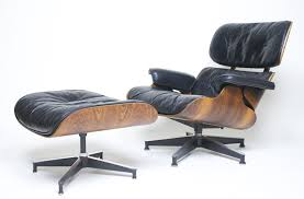 Early 1960's Herman Miller Eames Lounge Chair & Ottoman ...