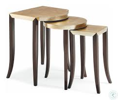 Caracole Classic Gold Leaf Nesting Tables Set Of 3 Nesting Tables Set Of 2 Havsta Gray Josef Albers Tables 4 Pavilion Round Set Zib Gray Piece Oslo Retail 3 Modern Reflections In Blackgold Two Natural Pine And Grey Zoa Nesting Tables Set Of Lack Black White Contemporary Solid Wood Maitland Smith Faux Bamboo