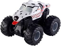 100 Hot Wheels Monster Truck Toys Jam Rev Tredz Mutt Friction Toy Car 12cm
