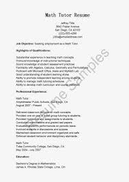 Resume Tulsa Ok Walgreens Fair Math Tutor Example