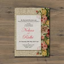 Rustic Wedding Invitation Template For Free Download On Pngtree
