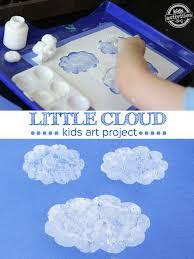 Weather Art Ideas Activities On Rain Craft Idea For Preschoolers