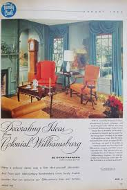 Scenic Wallpaper Like In The Room Above Was Very Popular Mid Century Homes Back Of Magazine Is An Ad For Oriental Themed Scenes