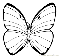 A Printable Picture Of Butterfly