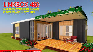 100 Homes From Shipping Containers Floor Plans Container HOMES PLANS And MODULAR PREFAB Design Ideas LINKBOX 480