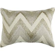 Pier One Outdoor Throw Pillows by Beaded Zigzag Lumbar Pillow Pier 1 Imports