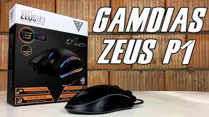 Gamdias Zeus P1 RGB - Test, Recenzja, Review Precyzyjnej I Niedrogiej Myszy  Dla Gracza