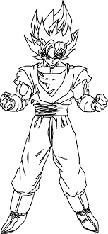 Coloring Page Dragon Ball Z Cartoons 96