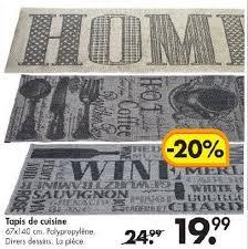 carpette de cuisine casa promotion tapis de cuisine produit maison casa carpette