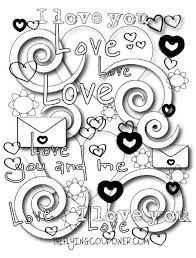 Free Colouring Pages For Adults And Kids Valentines Day The Flying Couponer