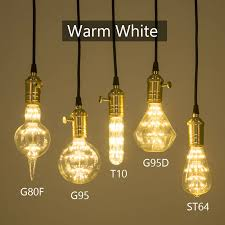 ygfeel 3w led bulbs e27 base 220v 110v edison retro light bulb