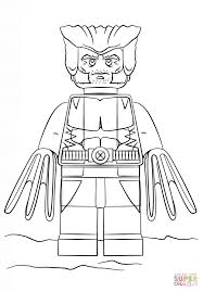 Wolverine Coloring Page Lego Free Printable Pages Line Drawings