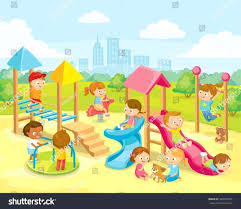 The Images Collection Of Playing Playground Clipart Amazing