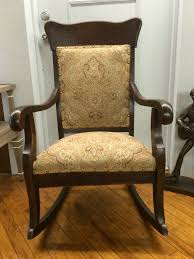 Antique Rocking Chair Antique Mahogany Upholstered Rocking Chair Lincoln Rocker Reasons To Buy Fniture At An Estate Sale Four Sales Child Size Rocking Chair Alexandergarciaco Yard Sale Stock Image Image Of Chairs 44000839 Vintage Cane Garage Antique Folding Wood Carved Griffin Lion Dragon Rustic Lowes Chairs With Outdoor Potted Log Wooden Porch Leather Shermag Bent Glider In The Danish Modern Rare For Children American Child Or Toy Bear