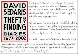 Audiobook Review Theft By Finding David Sedaris
