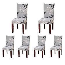 chaise ée 70 6 x housse de chaise sinderay universelle extensible pour décoration
